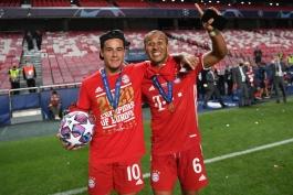 بایرن مونیخ - Bayern Munich - لیگ قهرمانان اروپا - UCL - فینال لیگ قهرمانان اروپا - بازی مقابل پاری سن ژرمن - جشن قهرمانی