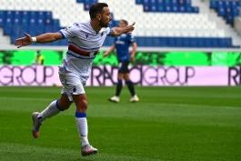 سمپدوریا / سری آ / Sampdoria / Serie A / گلزنی مقابل آتالانتا