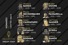 بهترین مدافعان میانی تاریخ فوتبال