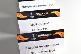 قرعه کشی لیگ اروپا 2019/20 | مصاف احتمالی اینتر با آلمانی ها و قرعه سخت منچستریونایتد در صورت حضور در نیمه نهایی