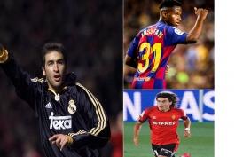 رکورد های جوان ها و مسن ها در فوتبال اروپا از بارسلونا و رئال مادرید: (حتما ببینید)