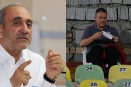 جایگاه زشت در ورزشگاه قدس / مربی تیم ملی ایران