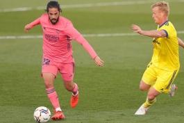 رئال مادرید / کادیز / لالیگا / اسپانیا / Real Madrid / Laliga  / Cadiz / Spain