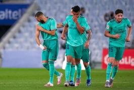 رئال مادرید / رئال سوسیداد / لالیگا / اسپانیا / Real Madrid / Laliga / Spain