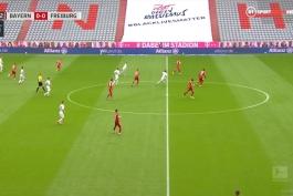 فول مچ بایرن مونیخ 3-1 فرایبورگ (بوندسلیگا - 2019/20)