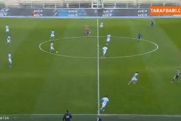 گل هیروینگ لوزانو به هلاس ورونا در ثانیه 9 بازی (هلاس ورونا - ناپولی)