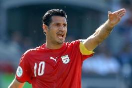 علی دایی: باعث افتخار است بازیکنی در سطح کریستیانو رونالدو به رکوردم برسد