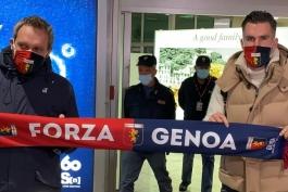 کوین استروتمن برای حضور در تست پزشکی جنوا وارد ایتالیا شد / عکس