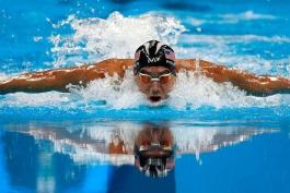 مایکل فلپس - ورزش شنا - شنای المپیک - تیم المپیک آمریکا