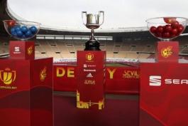 بارسلونا و رئال مادرید حریفان خود را در کوپا دل ری شناختند