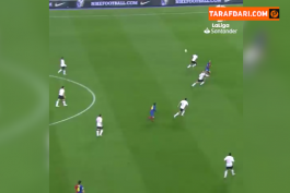 هت تریک تیری آنری در جریان برتری 4-0 بارسلونا مقابل والنسیا (2008/12/6) / ویدیو