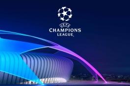 مصاف های یک هشتم نهایی لیگ قهرمانان اروپا / طرح گرافیکی اختصاصی