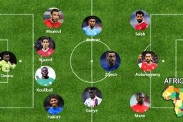 تیم منتخب سال 2020 قاره آفریقا از نگاه IFFHS