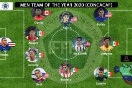 تیم منتخب سال 2020 کونکاکاف از نگاه IFFHS