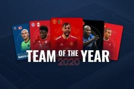 نامزدهای حضور در تیم منتخب سال 2020 اروپا انتخاب شدند
