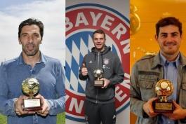 بهترین دروازه بان های سال جهان از نگاه فدراسیون بین المللی تاریخ و آمار فوتبال (IFFHS)