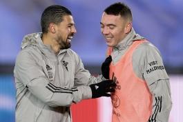 مصدومیت یاگو آسپاس و نولیتو مقابل رئال مادرید