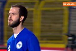 خلاصه بازی بوسنی 0-1 فرانسه (انتخابی جام جهانی 2022)