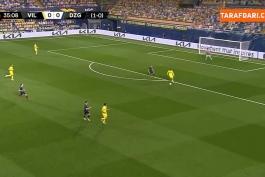 گل های بازی ویارئال 2-1 دیناموزاگرب (لیگ اروپا - 2020/21)