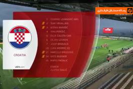 خلاصه بازی کرواسی 1-0 قبرس (مقدماتی جام جهانی 2022)