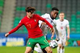 یورو زیر 21 سال؛ پرتغال 2-0 انگلیس