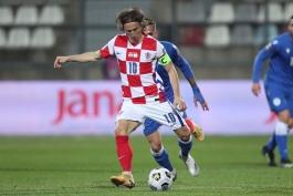 لوکا مودریچ، رکورددار بیشترین بازی در تاریخ تیم ملی کرواسی شد