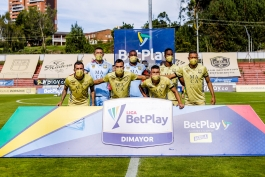 تیمی در کلمبیا با 7 بازیکن مقابل حریف خود قرار گرفت / عکس