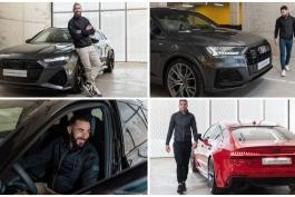 بازیکنان رئال مادرید و ماشین هایشان