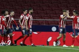 اتلتیکو مادرید 2-1 اتلتیک بیلبائو؛ کامبک با هدایای رئال مادرید و بارسلونا