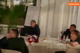اشک ریختن لوکا مودریچ هنگام تشویق توسط هم تیمی هایش به مناسبت شکستن رکورد بیشترین بازی در تیم ملی کرواسی / ویدیو