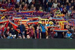 هواداران بارسلونا