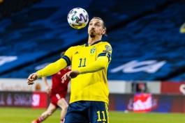 زلاتان ابراهیموویچ در بازگشت مجدد به تیم ملی پاس گل داد