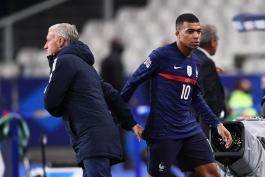 دشان: ام باپه نمی تواند از عملکرد اخیرش در تیم ملی فرانسه راضی باشد