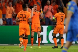 هلند 3-2 اوکراین؛ برد شیرین لاله های نارنجی در یک مسابقه زیبا