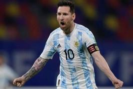 مسی: تیم ملی آرژانتین هیچوقت بیش از حد به من وابسته نبوده است