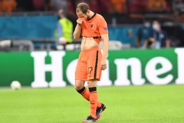 دالی بلیند: بعد از حمله قلبی اریکسن، نمی خواستم برای تیم ملی هلند بازی کنم
