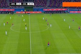 خلاصه بازی آرژانتین 1-1 شیلی (مقدماتی جام جهانی 2022)