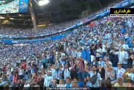 پیروزی 2-1 آرژانتین مقابل نیجریه در دور گروهی جام جهانی و صعود به دور حذفی (26 ژوئن، 2018) / فیلم