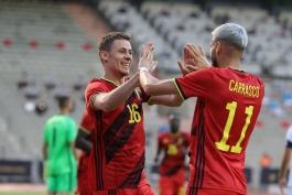 بلژیک 1-1 یونان؛ تساوی نا امیدکننده شیاطین سرخ در خانه