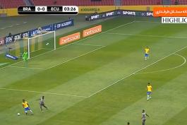 خلاصه بازی برزیل 2-0 اکوادور (مقدماتی جام جهانی 2022)