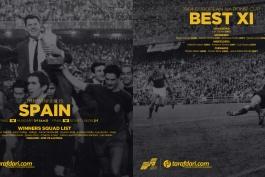در یک نگاه | در یورو 1964 چه گذشت؟