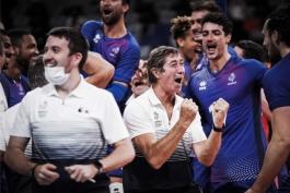 سرمربی والیبال فرانسه