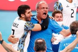 والیبال آرژانتین / المپیک توکیو