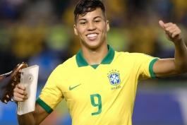سانتوس/مهاجم برزیلی/Santos/Brazilian Striker