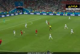 تساوی 3-3 پرتغال و اسپانیا در دور گروهی جام جهانی در شب هت تریک کریستیانو رونالدو (2018/6/15) / فیلم