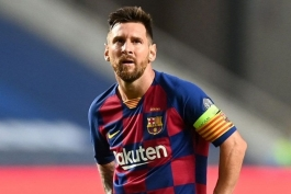 جدایی مسی از بارسلونا - لیونل مسی