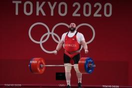 وزنه برداری در المپیک