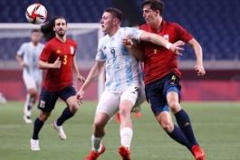 اسپانیا - آرژانتین