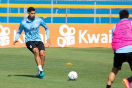 مدافع تیم ملی اروگوئه