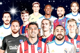 رئال مادرید / بارسلونا / اتلتیکو مادرید / Real Madrid / Barcelona / Atletico Madrid / لالیگا / Laliga